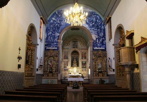 Pombal - interior da Igreja Matriz -  Praça Marques de Pombal