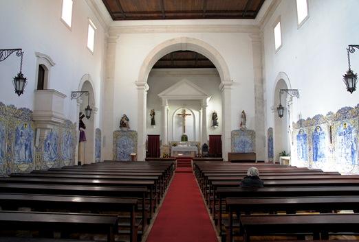 Ourem - interior da igreja de N.S.Piedade