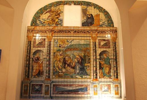 museu do azulejo - retabulo de N.S. da Vida 1