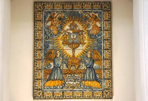 museu do azulejo - alegoria eucarística