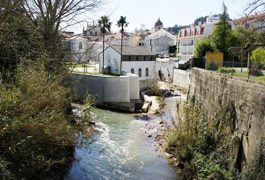Alcobaça - rio Alcôa e Rio Baça