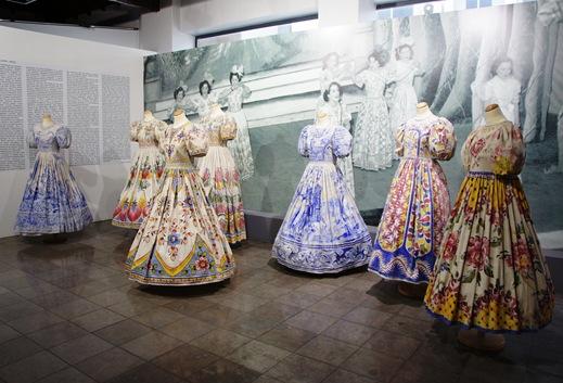 Alcobaça - museu raul da bernarda - trajes do rancho do alcoa