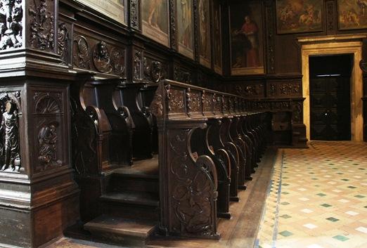 mosteiro dos Jeronimos cadeiral