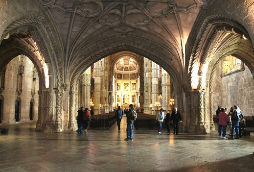 mosteiro dos Jeronimos -  igreja 1