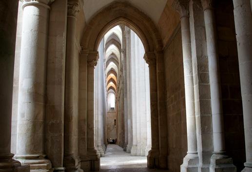Mosteiro de Alcobaça - Nave lateral 2