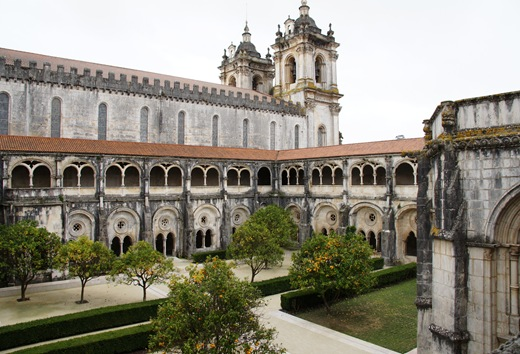 Mosteiro de Alcobaça - Claustro de D. Dinis ou do Silêncio 1