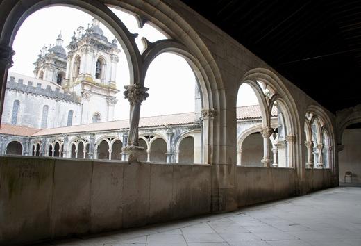 Mosteiro de Alcobaça - galeria superior
