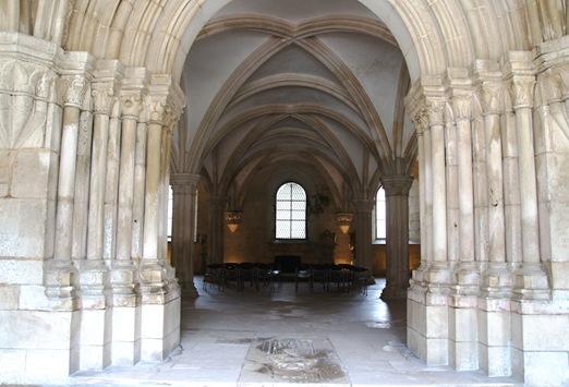 Mosteiro de Alcobaça - Sala do Capítulo
