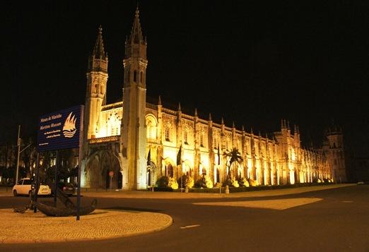 mosteiro dos Jeronimos - noite