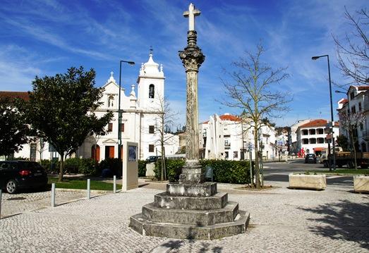 Porto de Mós - praça do rossio