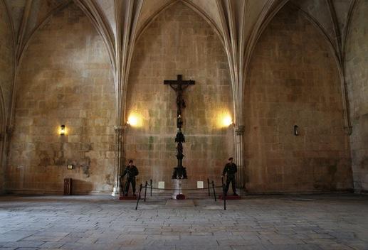 Batalha - Mosteiro de Santa Maria da Vitória -  casa do capitulo - tumulo do soldado desconhecido