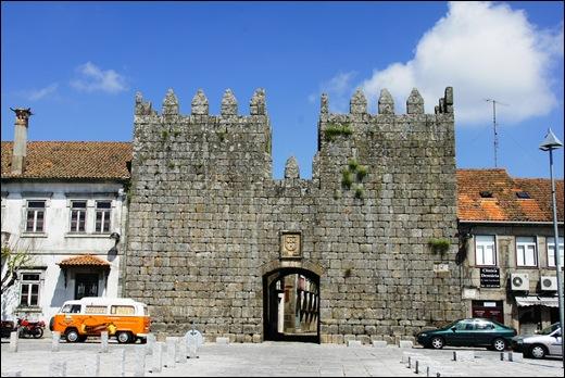9.Trancoso -  castelo medieval - porta del rei