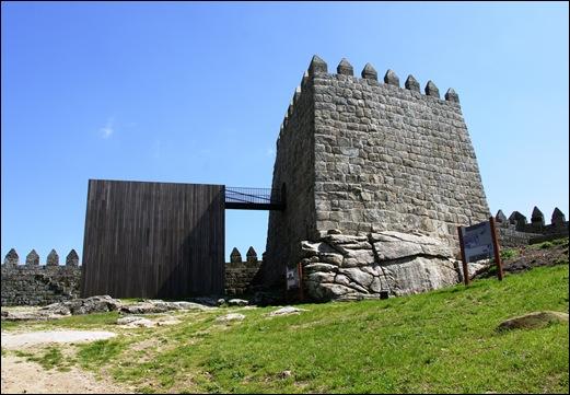 9.Trancoso -  castelo medieval - torre de menagem
