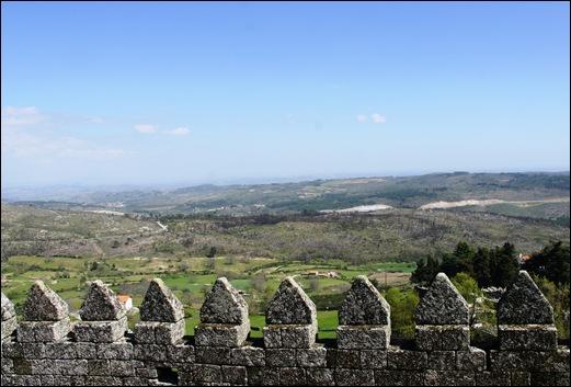 9.Trancoso -  castelo medieval - vista a partir do