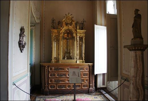 Palacio de Queluz - Oratório Quarto D.Quixote
