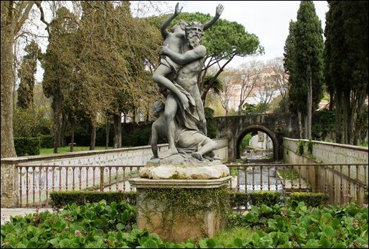 Palácio de Queluz - largo dos Plátanos - Rapto de Perséfone
