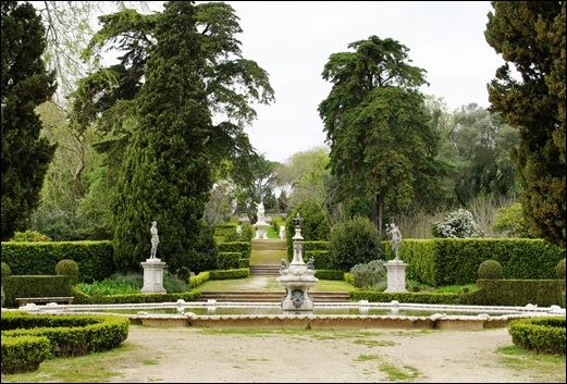 Palácio de Queluz - Lago das Medalhas