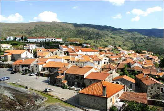 Linhares - aldeia vista do castelo