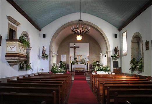 Sabugal - Glória Ishizaka - igreja de são joão - interior
