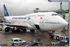 Garuda Indonesia Boeing 747