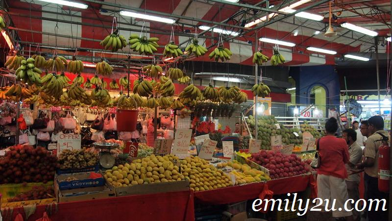 colourful tropical fruits Bugis