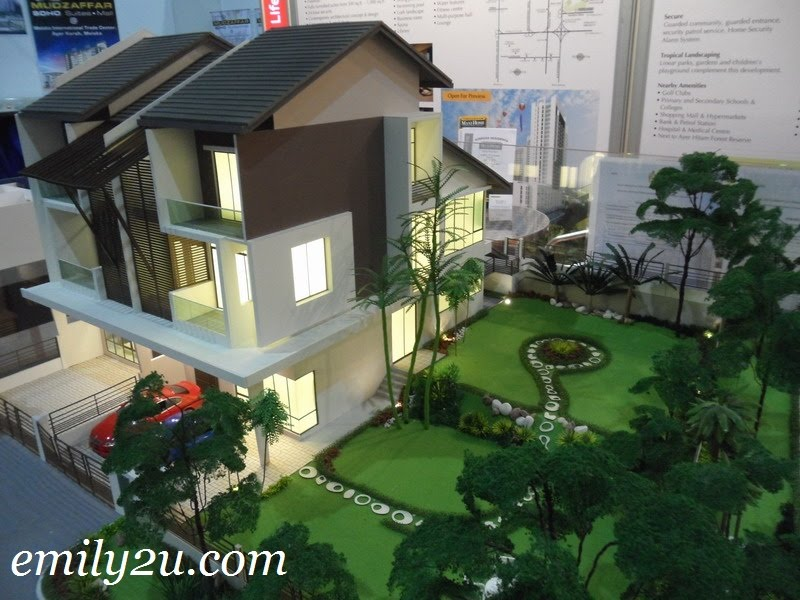 3-Storey terrace corner lot