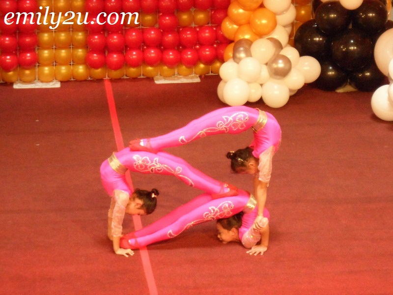 young acrobats from China