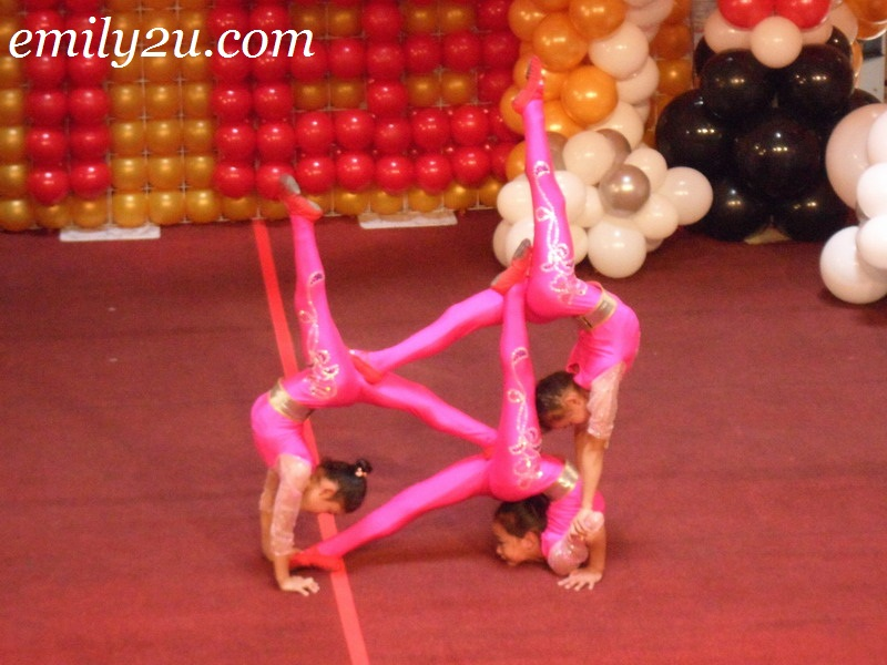 young acrobats in their element