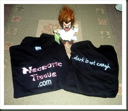 necrotic t-shirts
