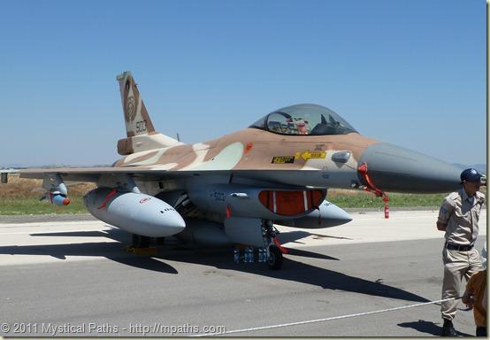 2011-05-10 Grandpa Eli Akiva Raizel Reuven - IDF Air Base Show 042