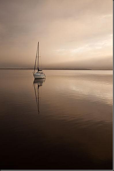 Rain-Sailboat
