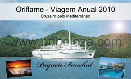 Viagem Oriflame 2010 - Cruzeiro Oriflame