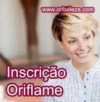 Inscrição Oriflame