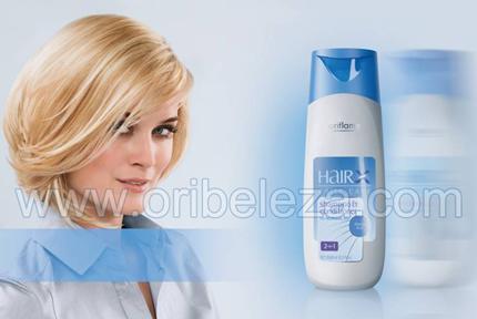 Cuidado Diário HairX da Oriflame