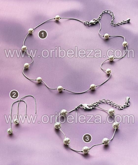 Colecção Elegant Pearl da Oriflame