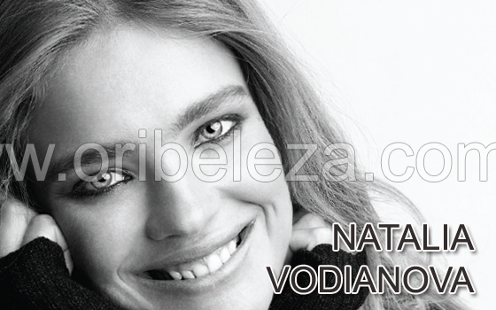 Natalia Vodianova para a Oriflame