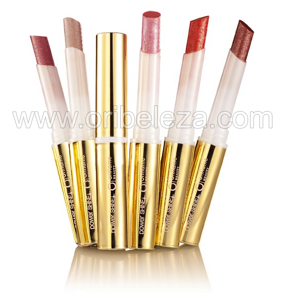 Batons Power Shine Festive Oriflame Beauty