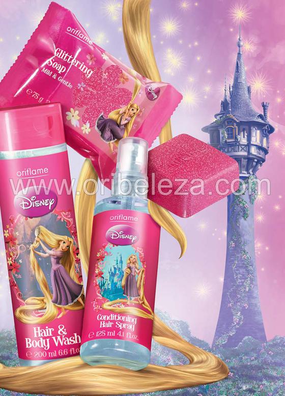 Produtos para o Banho Oriflame Disney