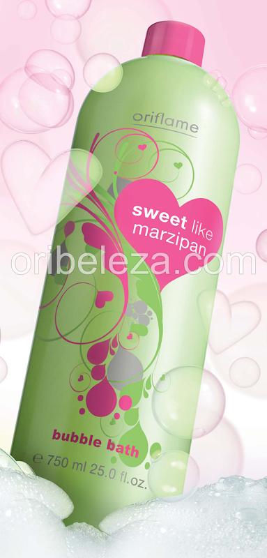 Espuma para Banho Sweet Like Marzipan da Oriflame