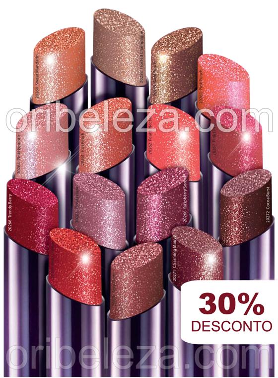 Batons Power Shine Oriflame – Catálogo 04/2011