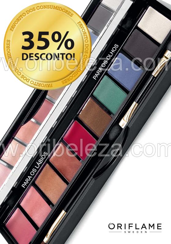 Paleta de Cores Olhos e Lábios da Oriflame – Catálogo 06/2011