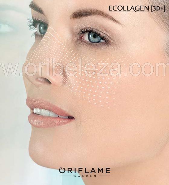 Sérum Redutor de Poros e Linhas Finas Ecollagen [3D+] da Oriflame