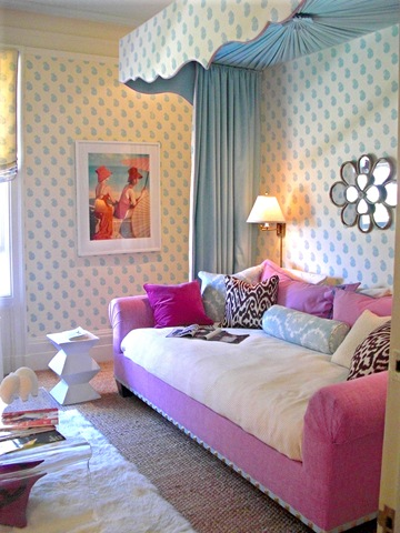 Cute Pink Teen Girls Rooms Interior Design 9 E1295278357167 Stylish