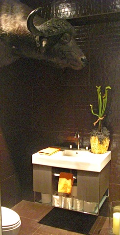 Erin Martin Powder Room, Metropolitan Home Modern by Design Showhouse 2009
