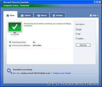 MS Security Essentialls