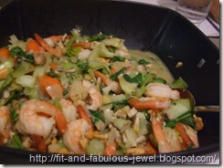 baby bok choy shrimp stir fry