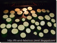 lemon roasted zucchini