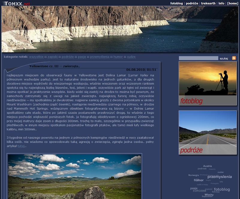 tomxx 3.0 -- blog, fotografia, podróże, 2006-2008