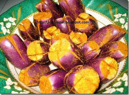 Chitra Pal Spicy and Sour Eggplants 1