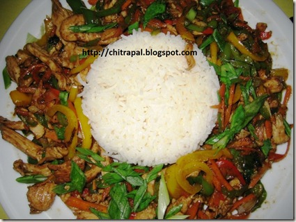 Chitra Pal Chicken Jalfrezi with Butter Rice